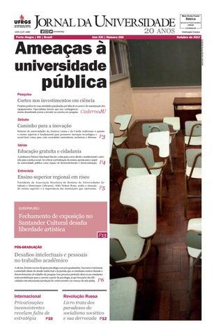8f4e7afb3 Jornal da Universidade by Universidade Federal do Rio Grande do Sul ...