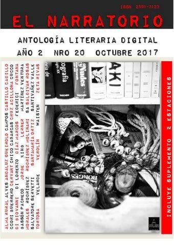 EL NARRATORIO ANTOLOGÍA LITERARIA DIGITAL NRO 20 OCTUBRE 2017 by EL ... cedfeb0d89f8