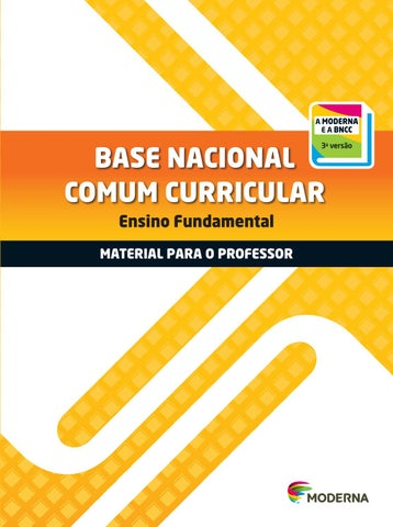 Base Nacional Comum Curricular Material Para O Professor