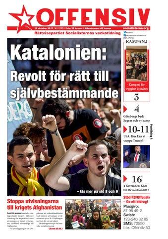 Katalanerna rustar for omrostning
