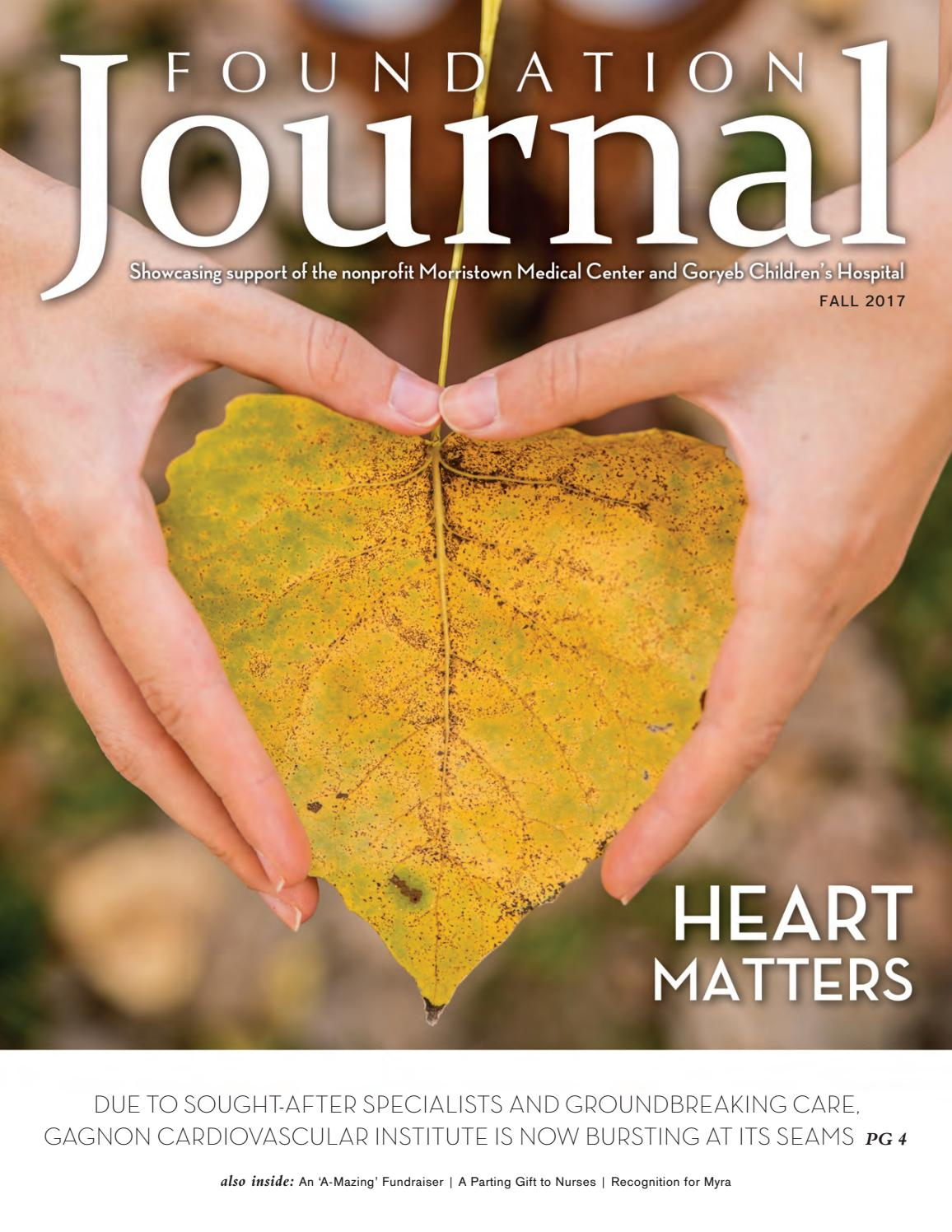 Fall 2017 by Foundation for Morristown Medical Center - issuu