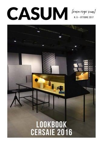 Casum n 6 arredamento e interior design lookbook for Cersaie 2017 espositori