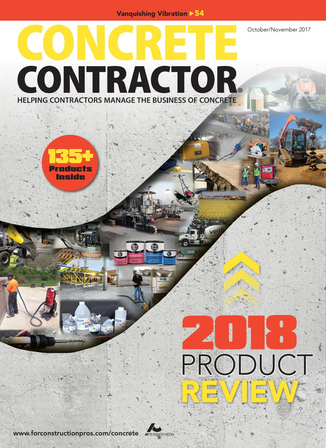 Concrete Contractor October/November 2017 by ForConstructionPros.com - issuu