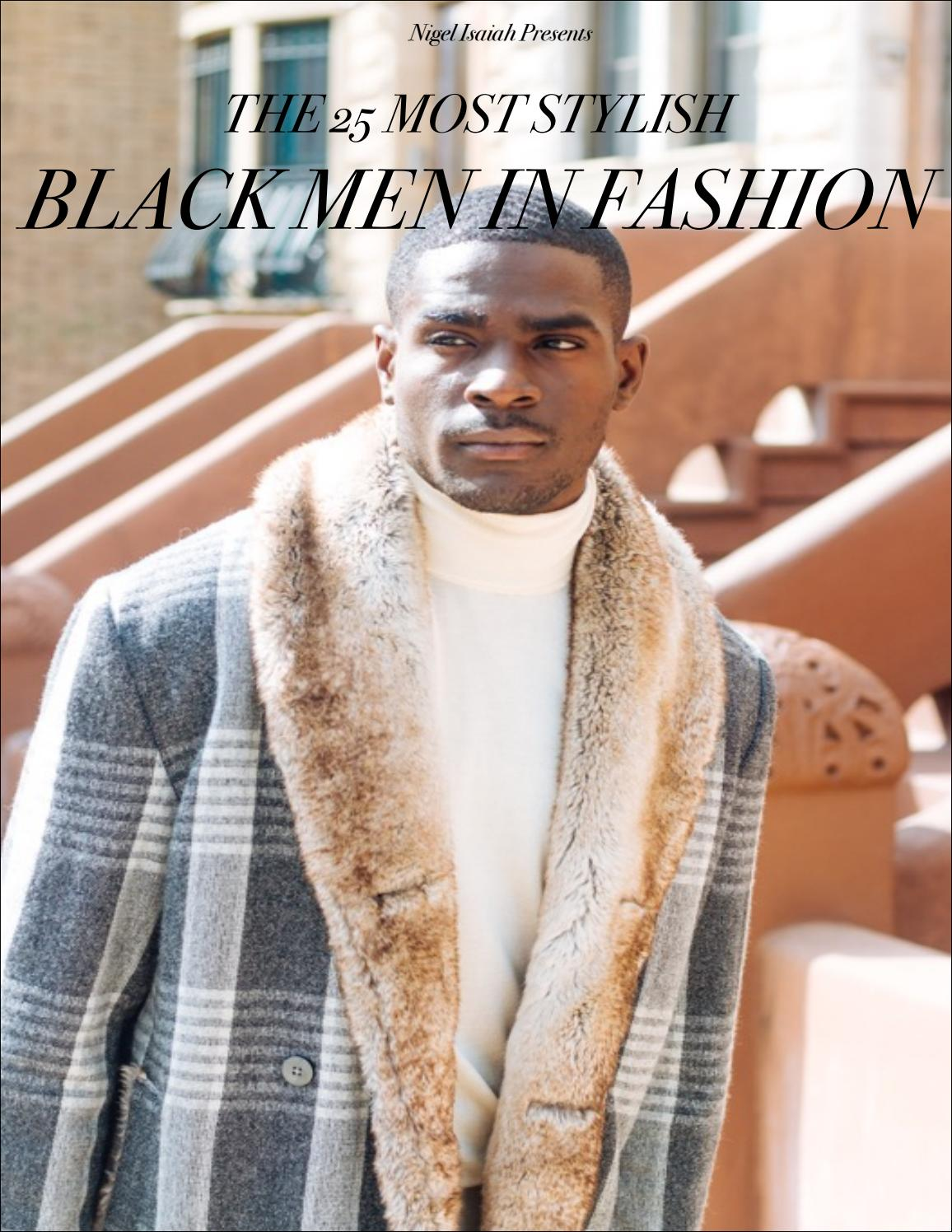 The 25 Most Stylish Black Men In Fashion By Kolor Magazine