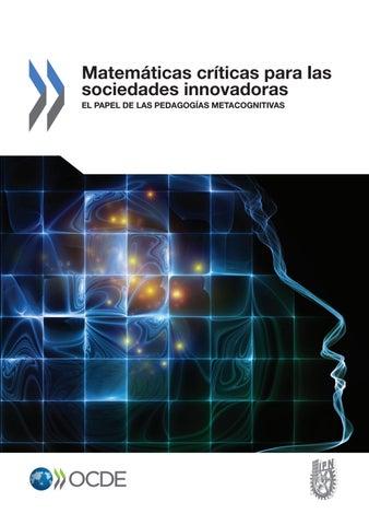 Matematicas críticas para las sociedades by Wilfredo PALOMINO NOA ...