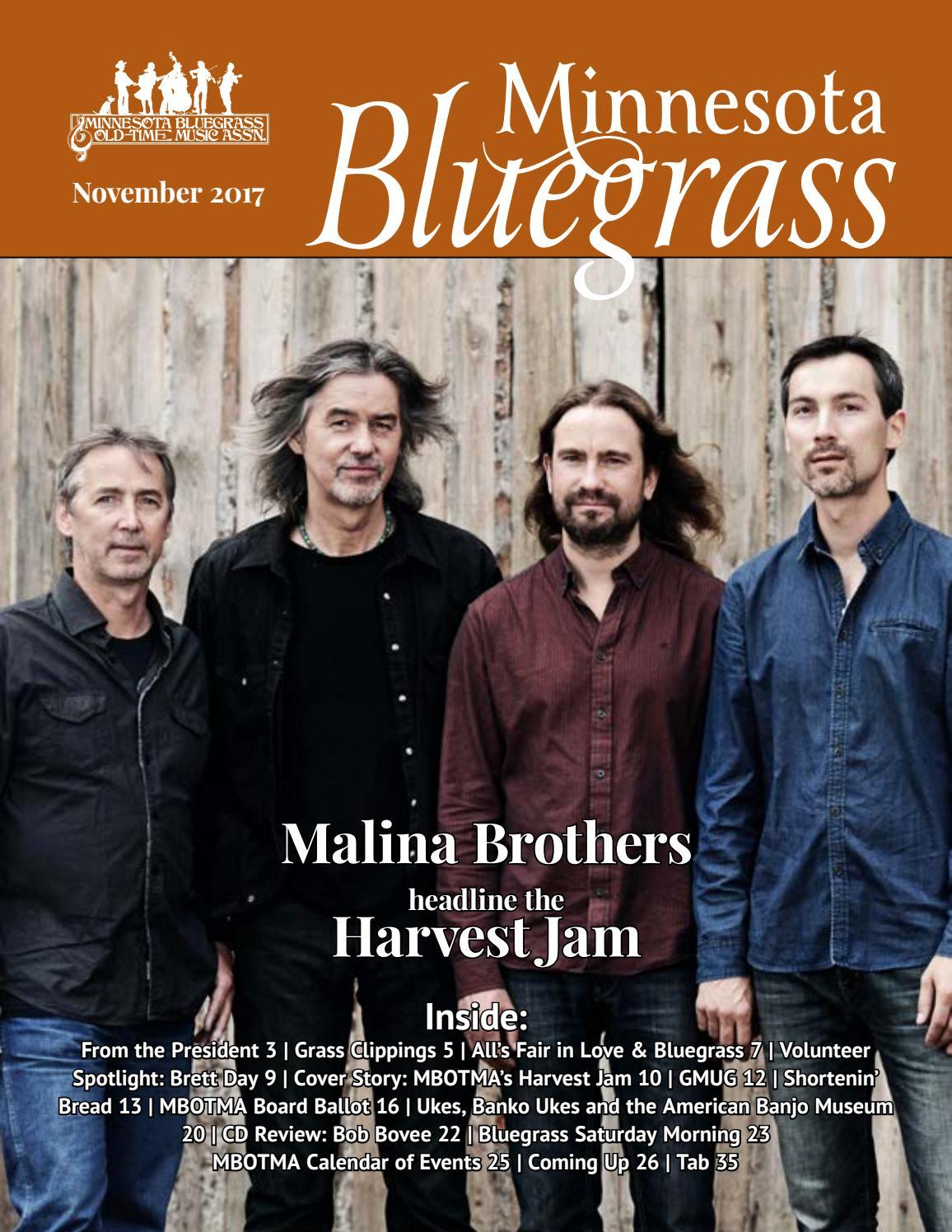 Minnesota bluegrass magazine november 2017 by minnesota bluegrass minnesota bluegrass magazine november 2017 by minnesota bluegrass issuu hexwebz Gallery