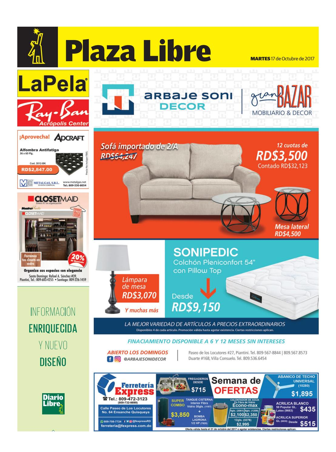 Carte Accord D Economax.Pl20171017 By Diario Libre Issuu