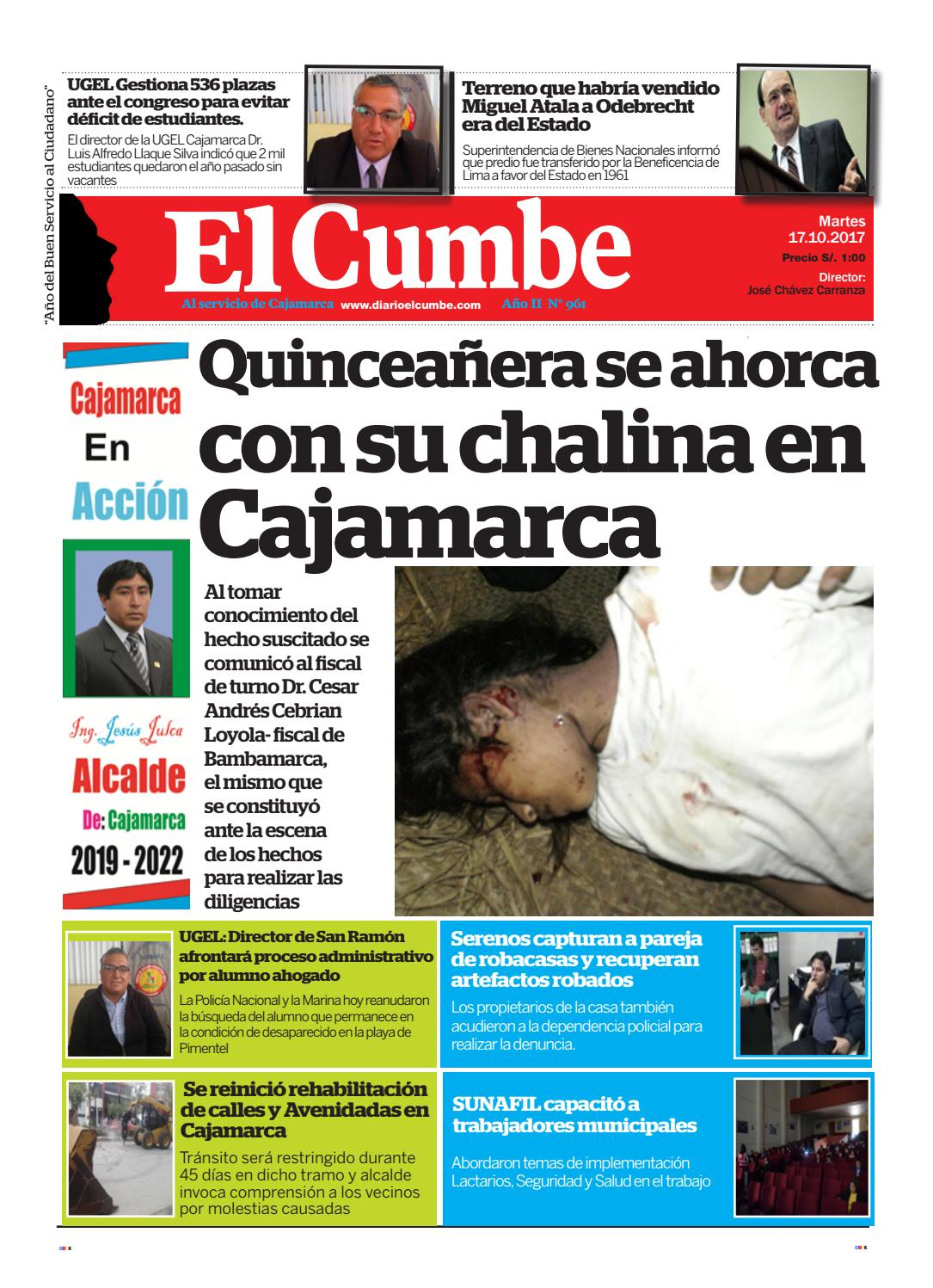 Diario El Cumbe 17 Octubre 2017 by Diario El Cumbe - issuu