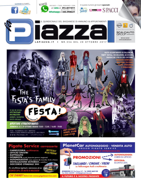 half off ee4d1 8ab95 la Piazza di Bassano 556 by la Piazza di Cavazzin Daniele - issuu