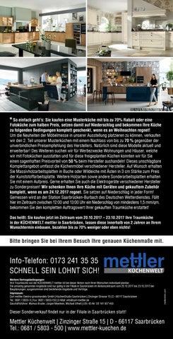 Mettler Saarbrücken mettler küchenwelt by saarbrücker verlagsservice gmbh issuu