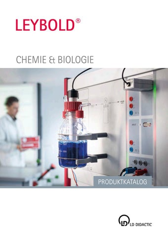 Chemie biologie produktkatalog by LD Didactic GmbH - issuu