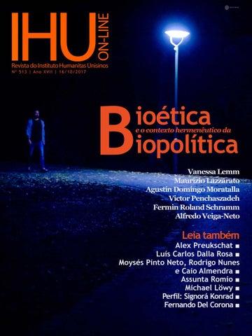 c0be651d0405f Bioética e o contexto hermenêutico da Biopolítica by  ihu - issuu