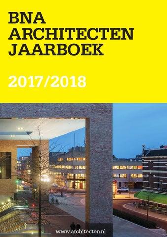 BNA Architecten Jaarboek 2017 2018 by BNA - Branchevereniging ... 9fe0fca50e52