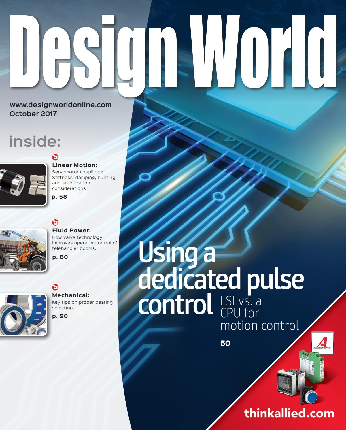 Design World October 2017 By Wtwh Media Llc Issuu Limit Switch On Carrier Furnace Youtube