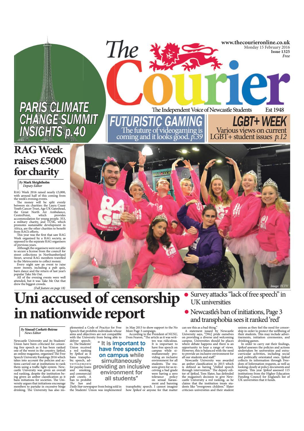 a4629b142 Courier 1325 by The Courier Online - issuu