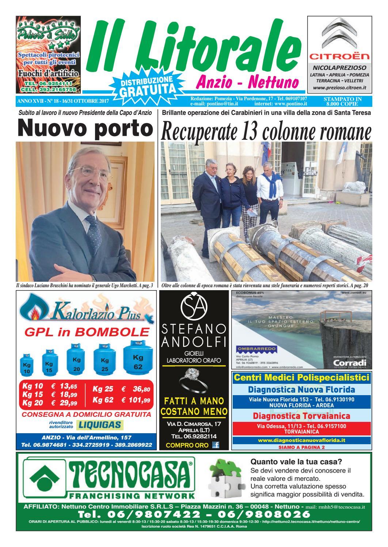 the best attitude 3b334 dddd9 Il Litorale - Anno XVII - N. 18 - 16 31 Ottobre 2017 by Il Pontino Il  Litorale - issuu