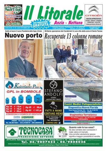 Il Litorale - Anno XVII - N. 18 - 16 31 Ottobre 2017 by Il Pontino ... c2cddc7df061