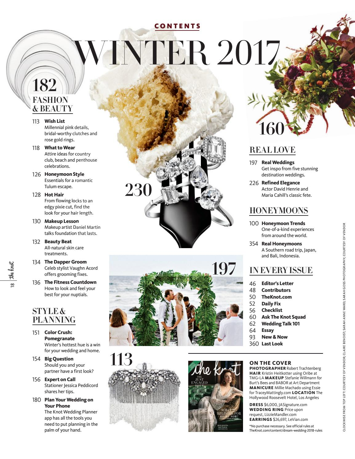 The Knot Winter 2017 by The Knot - issuu