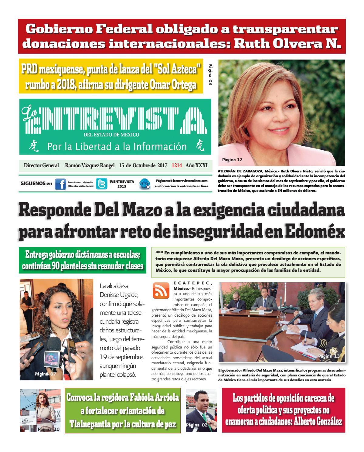 Entrevista1214 by La entrevista - issuu