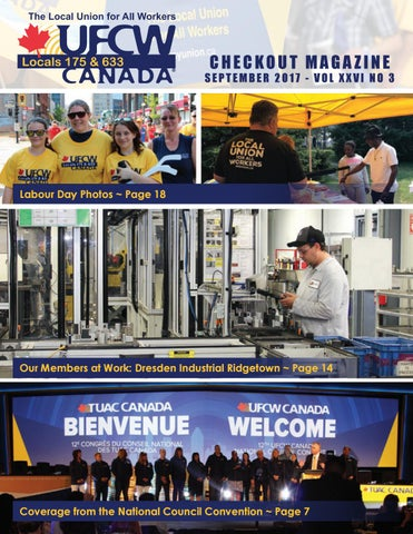 Checkout September 2017 by UFCW Locals 175 & 633 - issuu