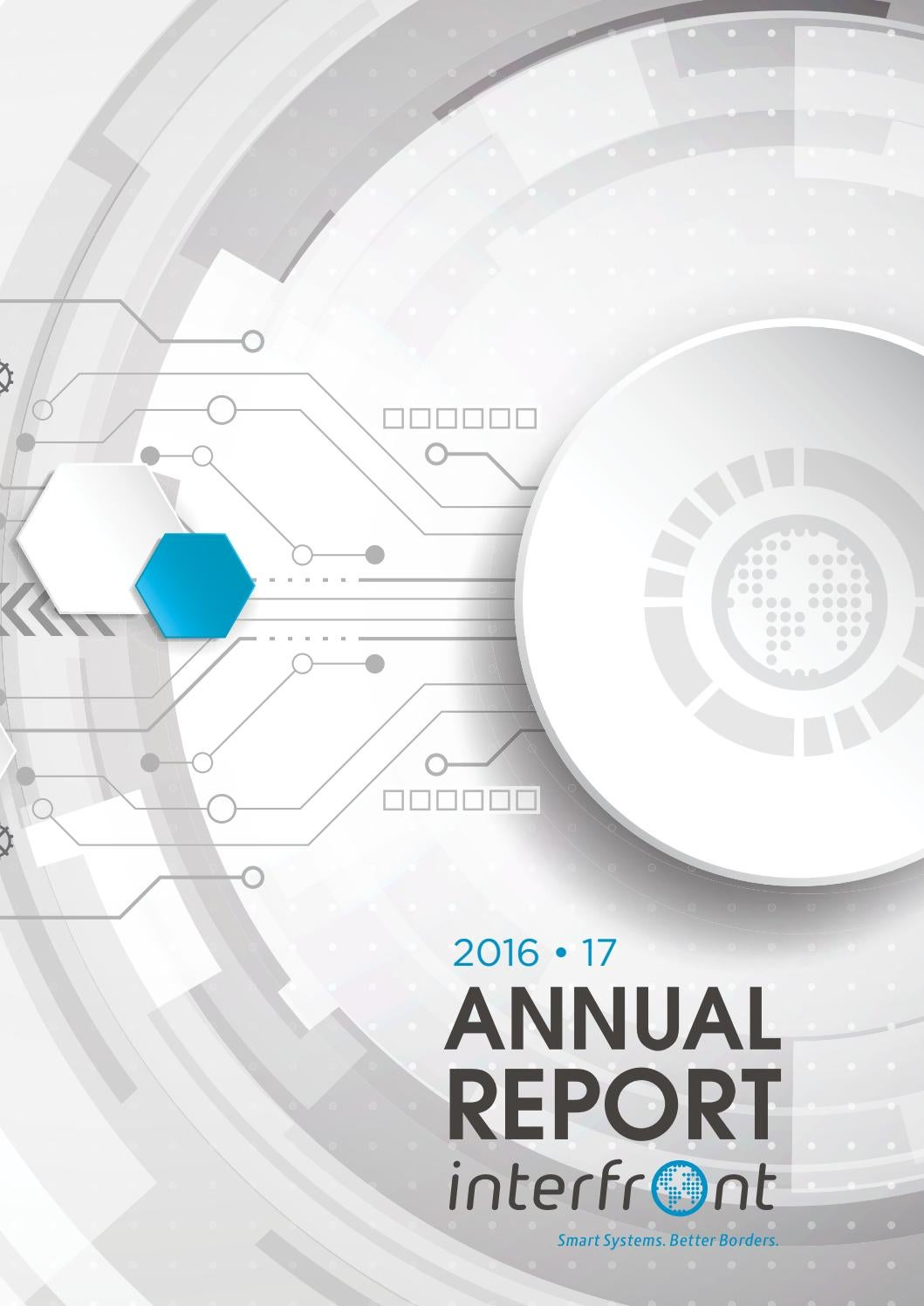 Interfront Annual Report by GAPdesign - issuu