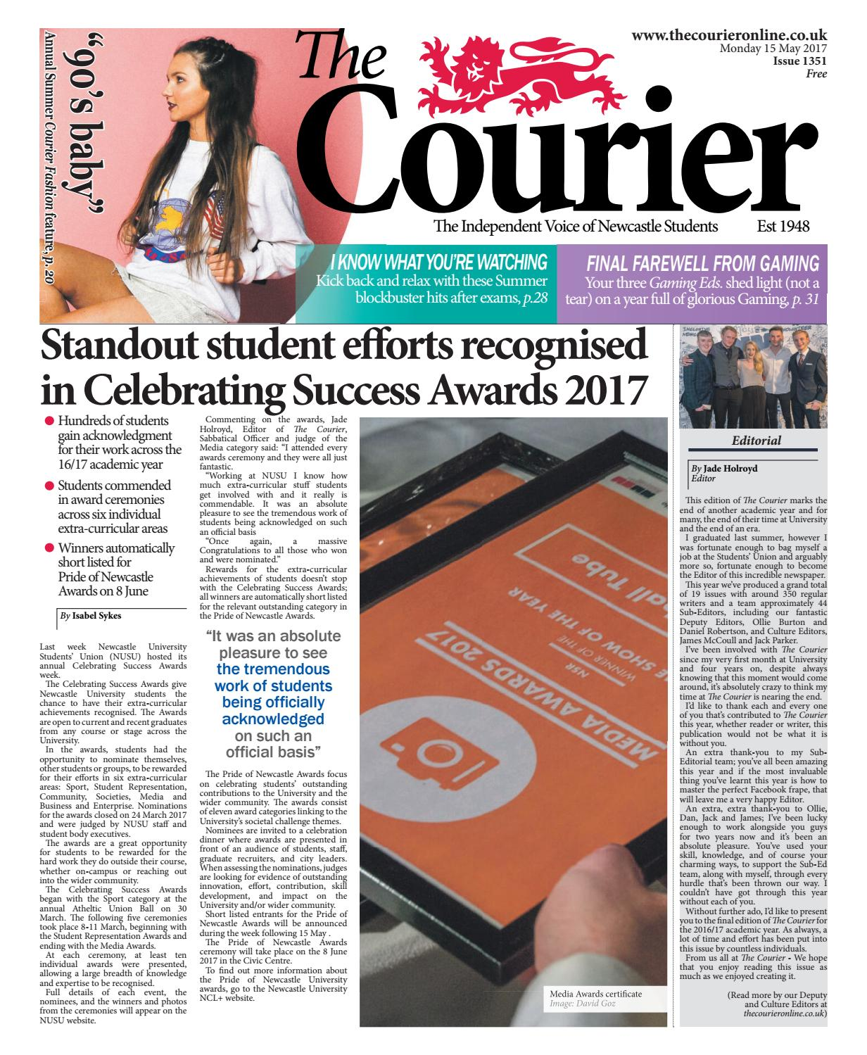 3a27bfa865 Courier 1351 by The Courier Online - issuu