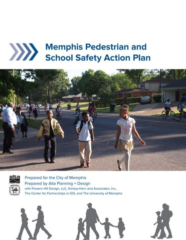 Memphis Pedestrian and School Safety Action Plan by Alta