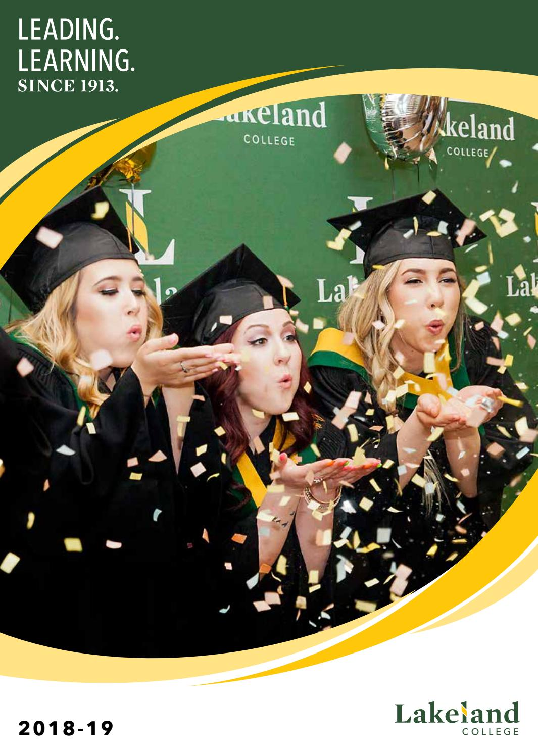 Lakeland College 2018 19 Program Preview By Lakeland College Canada Issuu