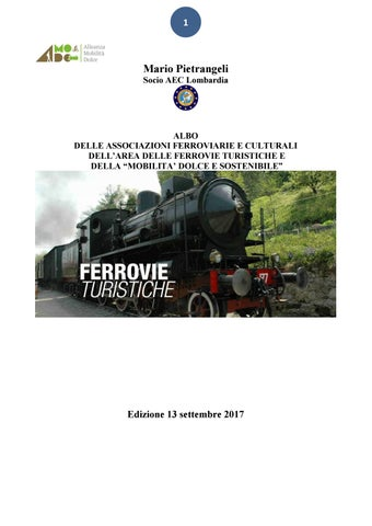 ce925eb99fc84 FERROVIE TURISTICHE by Istituto Studi Sabini - issuu
