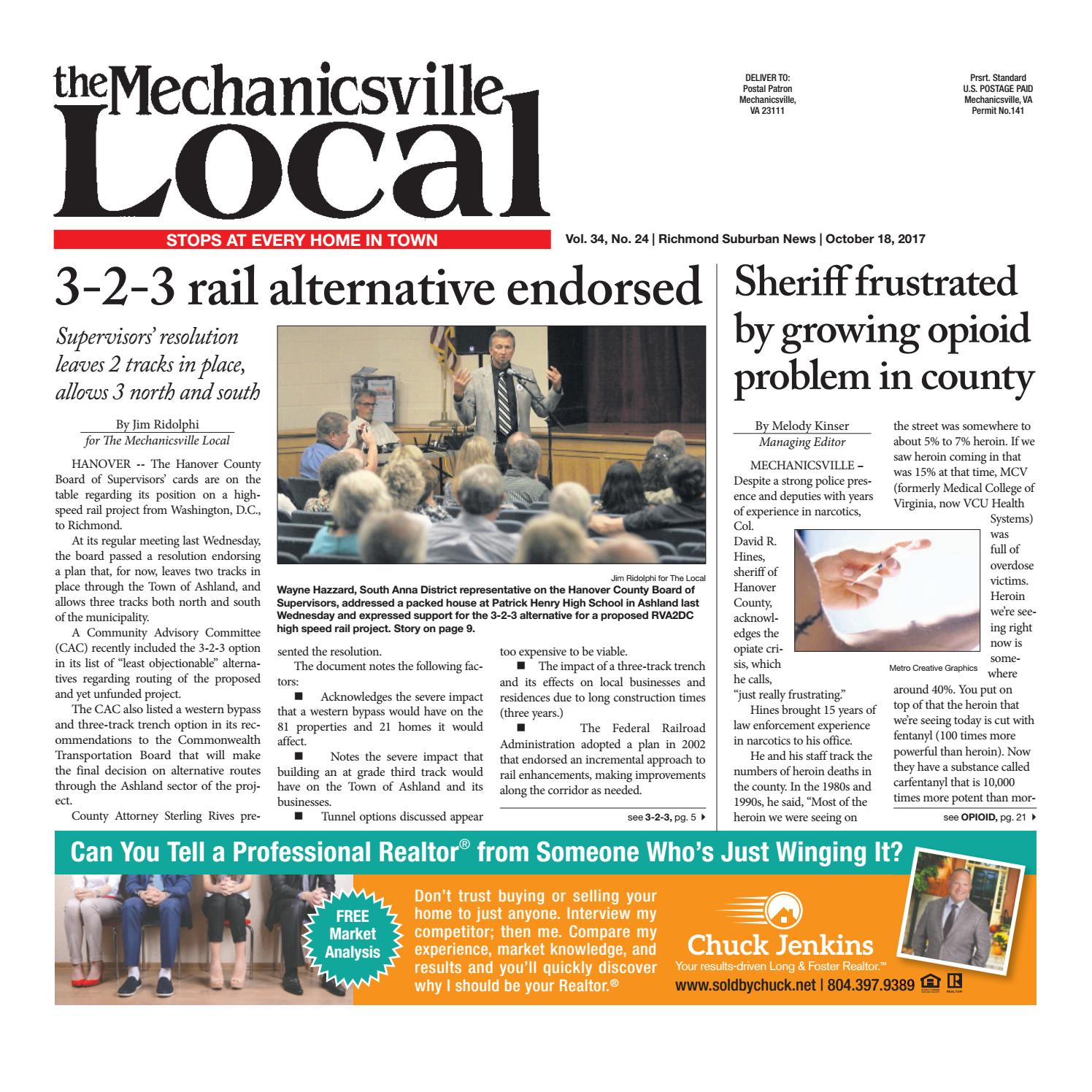 10/18/17 by The Mechanicsville Local - issuu