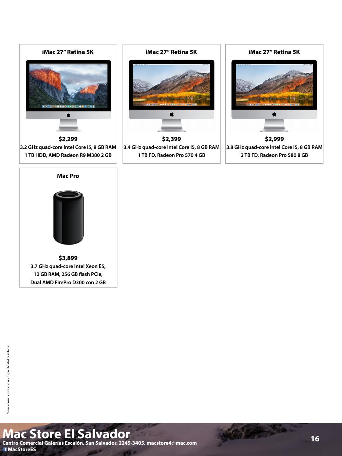 Catálogo octubre 2017 by Mac Store - issuu