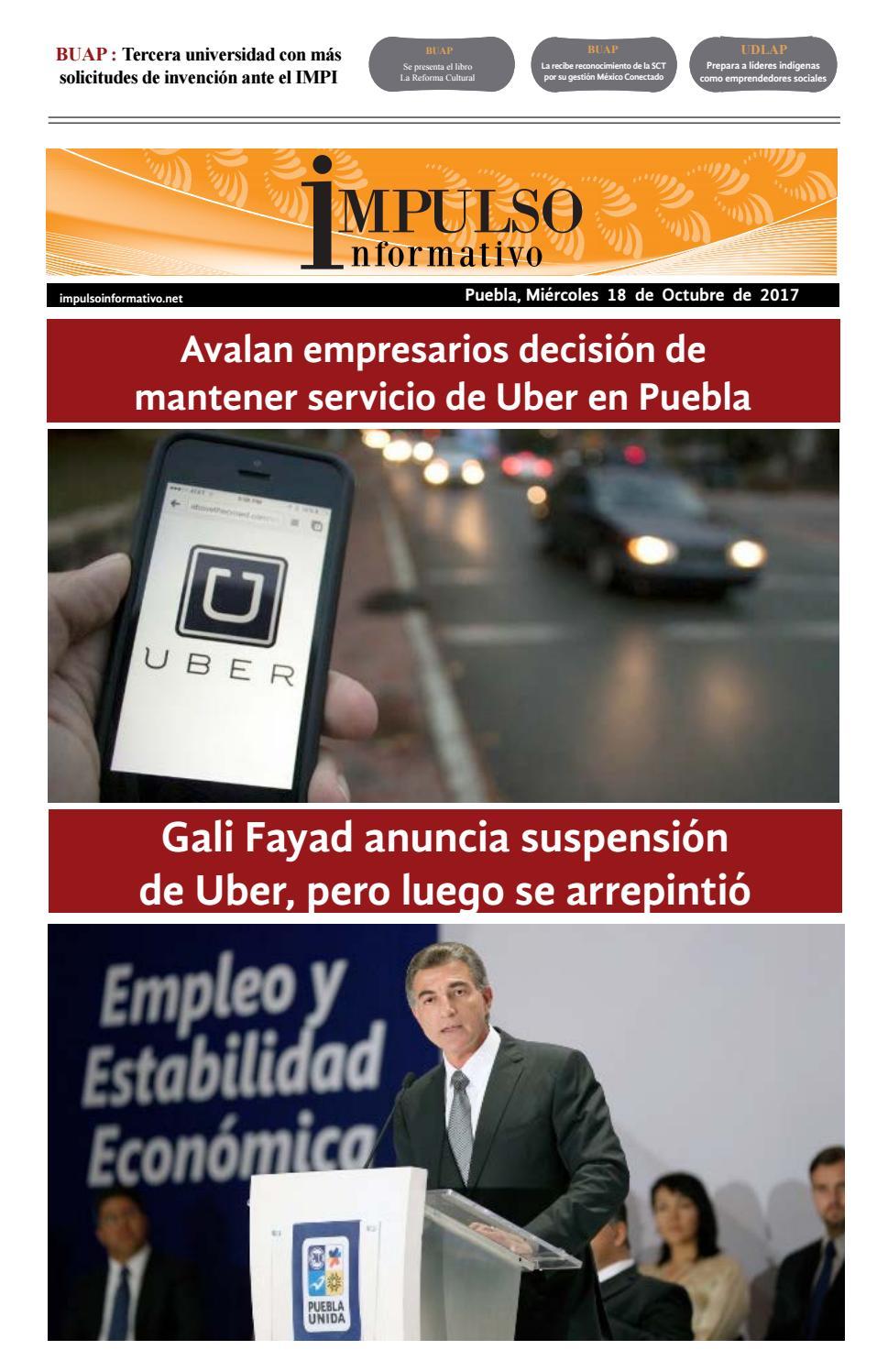 Impulso informativo impreso 18 octubre 2017 by Alejandro García ...