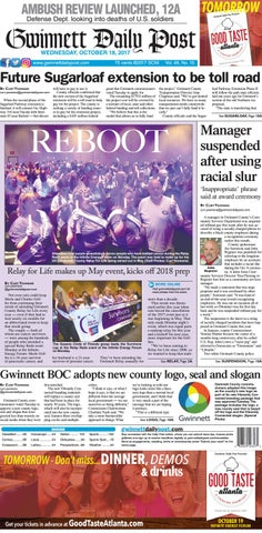 Gwinnett Daily Post — October 18, 2017 by Gwinnett Daily Post - issuu