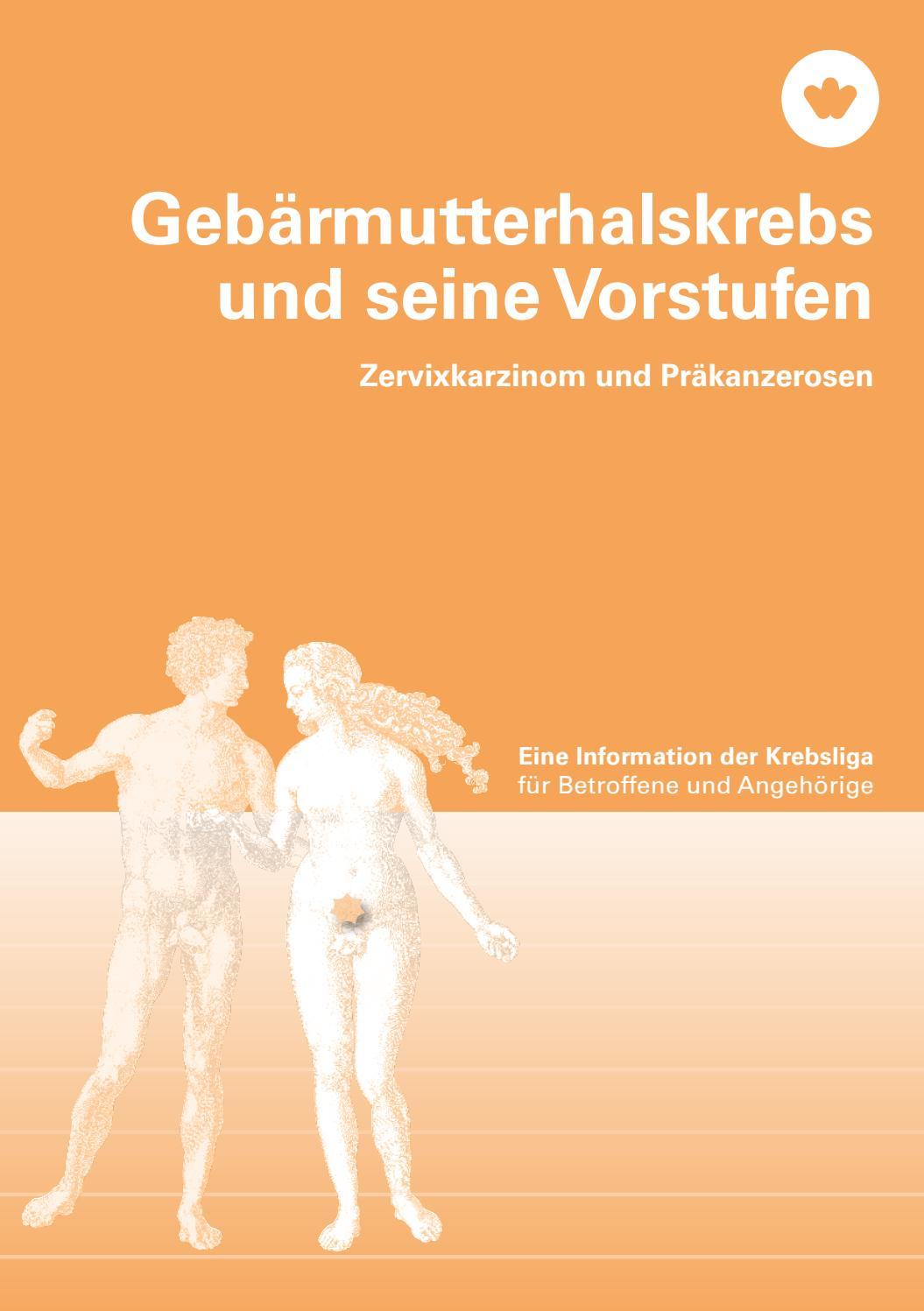 Gebärmutterhalskrebs und seine Vorstufen by Krebsliga Schweiz - issuu