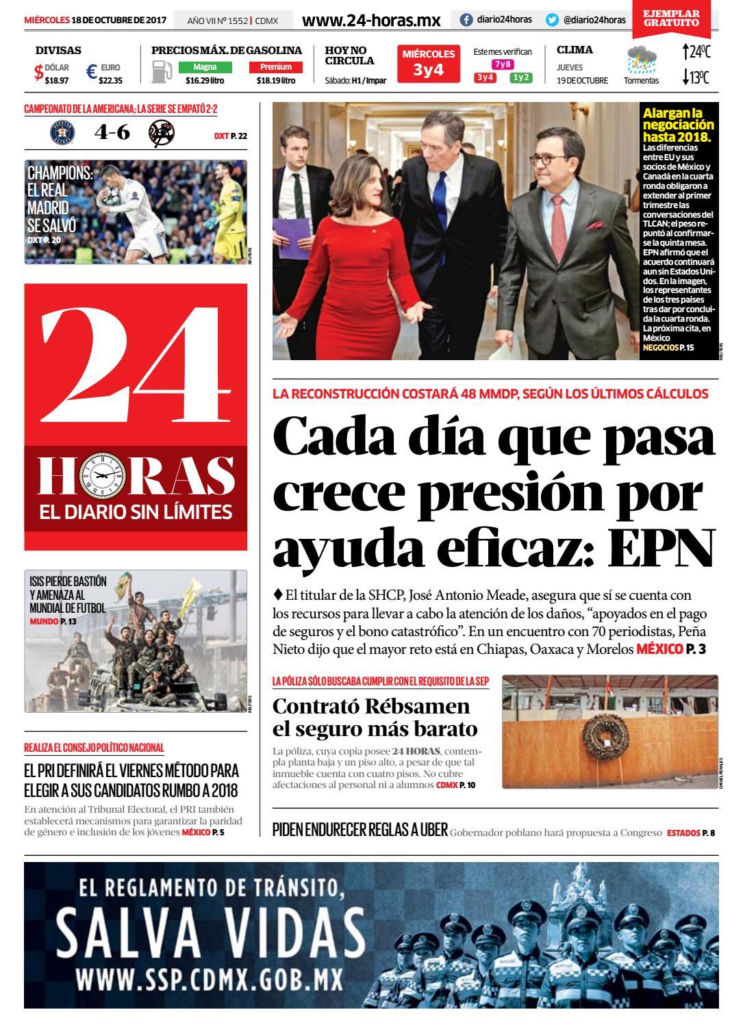 Octubre | 18 | 2017 by Información Integral 24/7 SAPI de C.V. - issuu