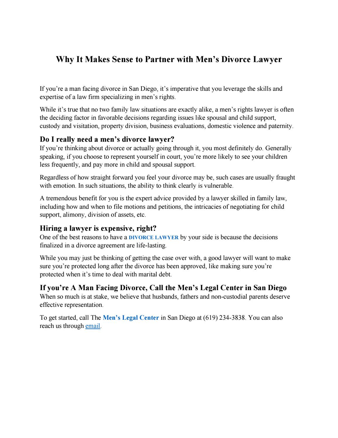 Why it makes sense to partner with mens divorce lawyer by alan why it makes sense to partner with mens divorce lawyer by alan thoms issuu solutioingenieria Gallery