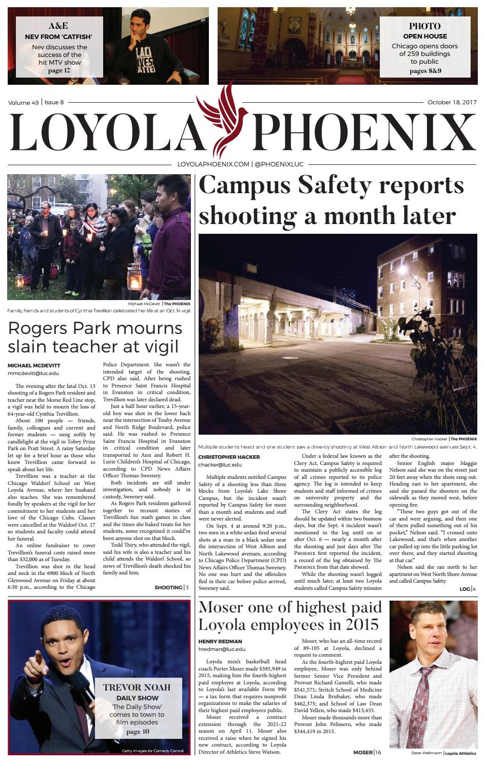 Loyola Phoenix Volume 49 Issue 8 By Loyola Phoenix Issuu