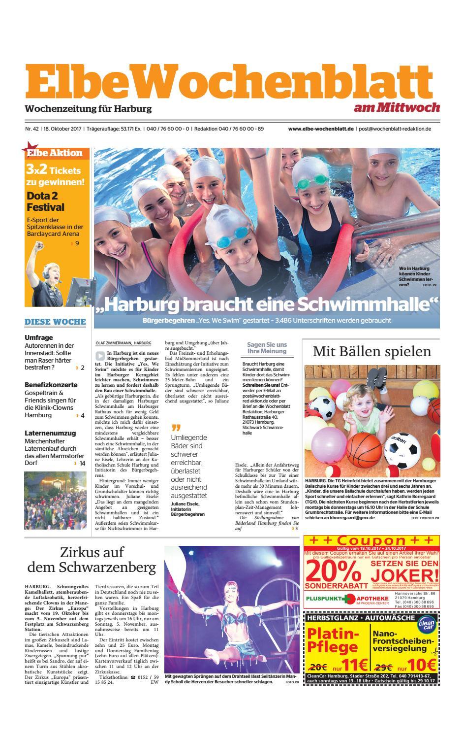 Harburg KW42-2017 by Elbe Wochenblatt Verlagsgesellschaft mbH & Co.KG -  issuu