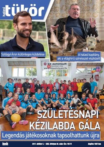 XXXI. évf. 40. szám 2017. október 4. by Halasi Tükör - issuu a17c97006f