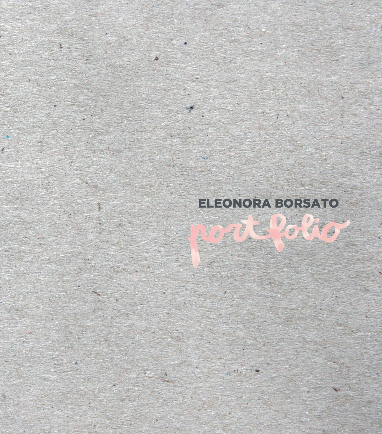 Fashion Design Portfolio Eleonora Borsato By Eleonora Borsato Issuu