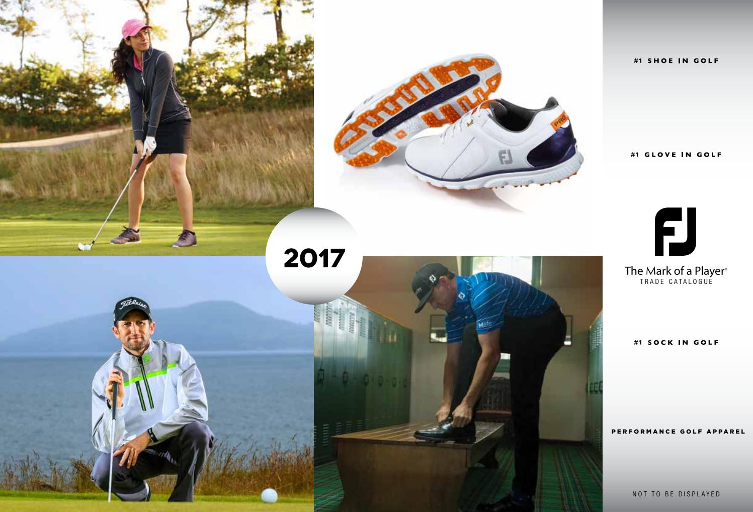 6094bc5b645 Footjoy 2017 full line catalogue by Golfsport - issuu
