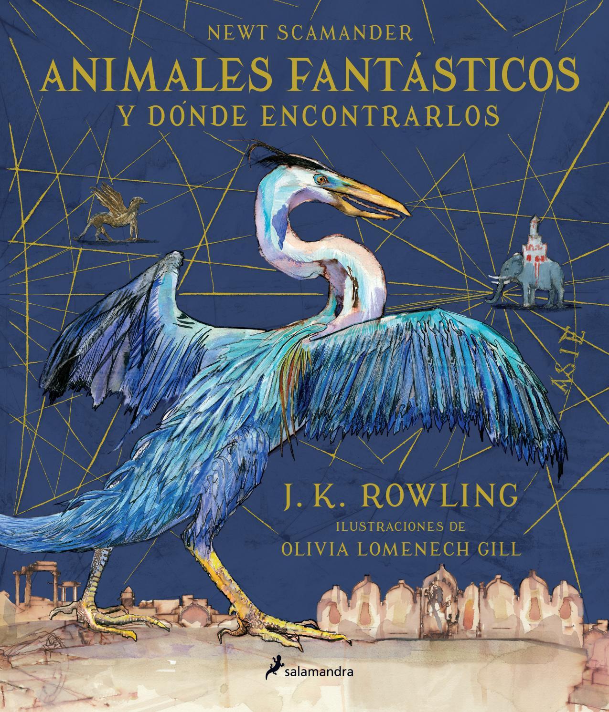 Animales Fantasticos Y Donde Encontrarlos Ilustrado Por Olivia