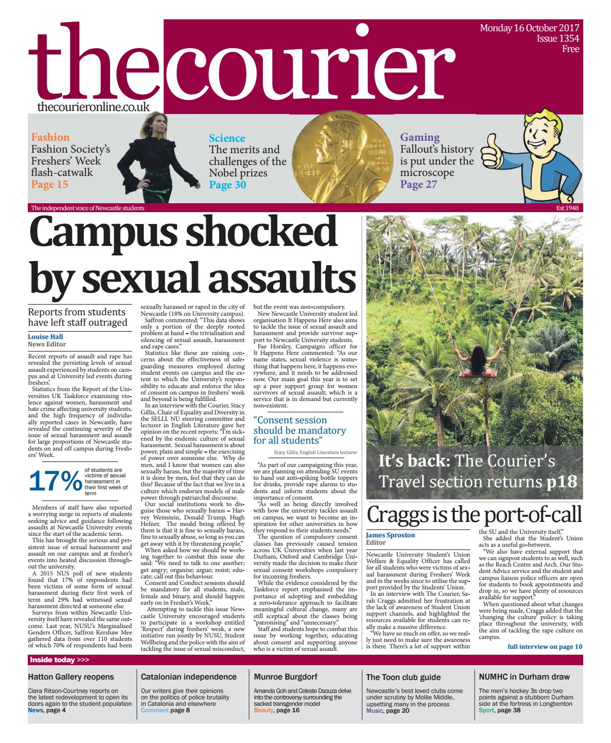 0c77de268130 Courier 1354 by The Courier Online - issuu
