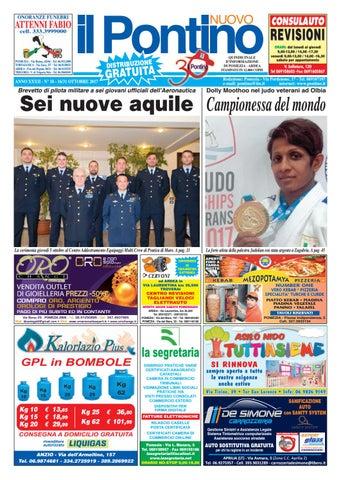 Il Pontino Nuovo - Anno XXXII - N. 18 - 16 31 Ottobre 2017 by Il ... dd1bf8419c31