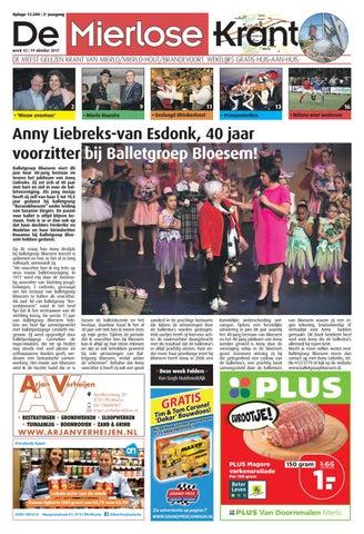 Mierlosekrant wk42 by ruudd@reclamerespons.nl - issuu