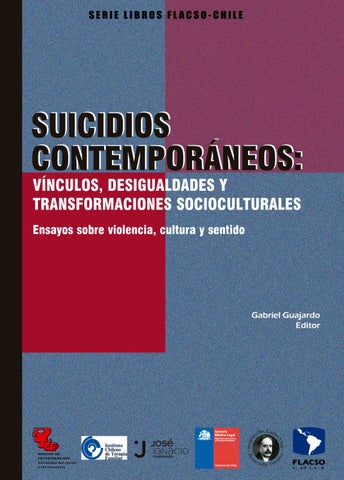 a43d277333238 Libro suicidios contemporáneos flacso chile by Flacso Chile - issuu