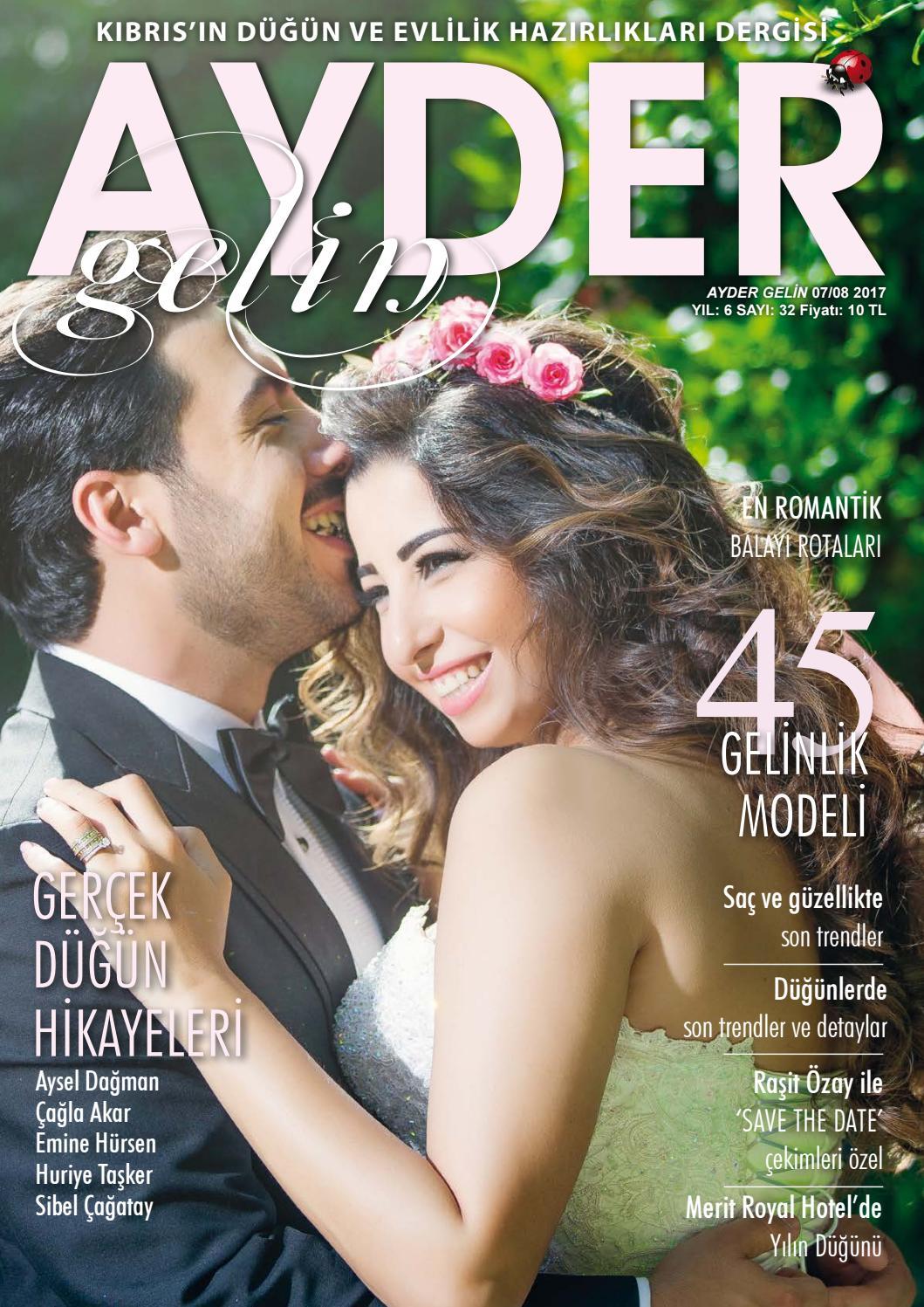 Ayder Gelin Sayı 20 - N.Cyprus Wedding Magazine by ACM I