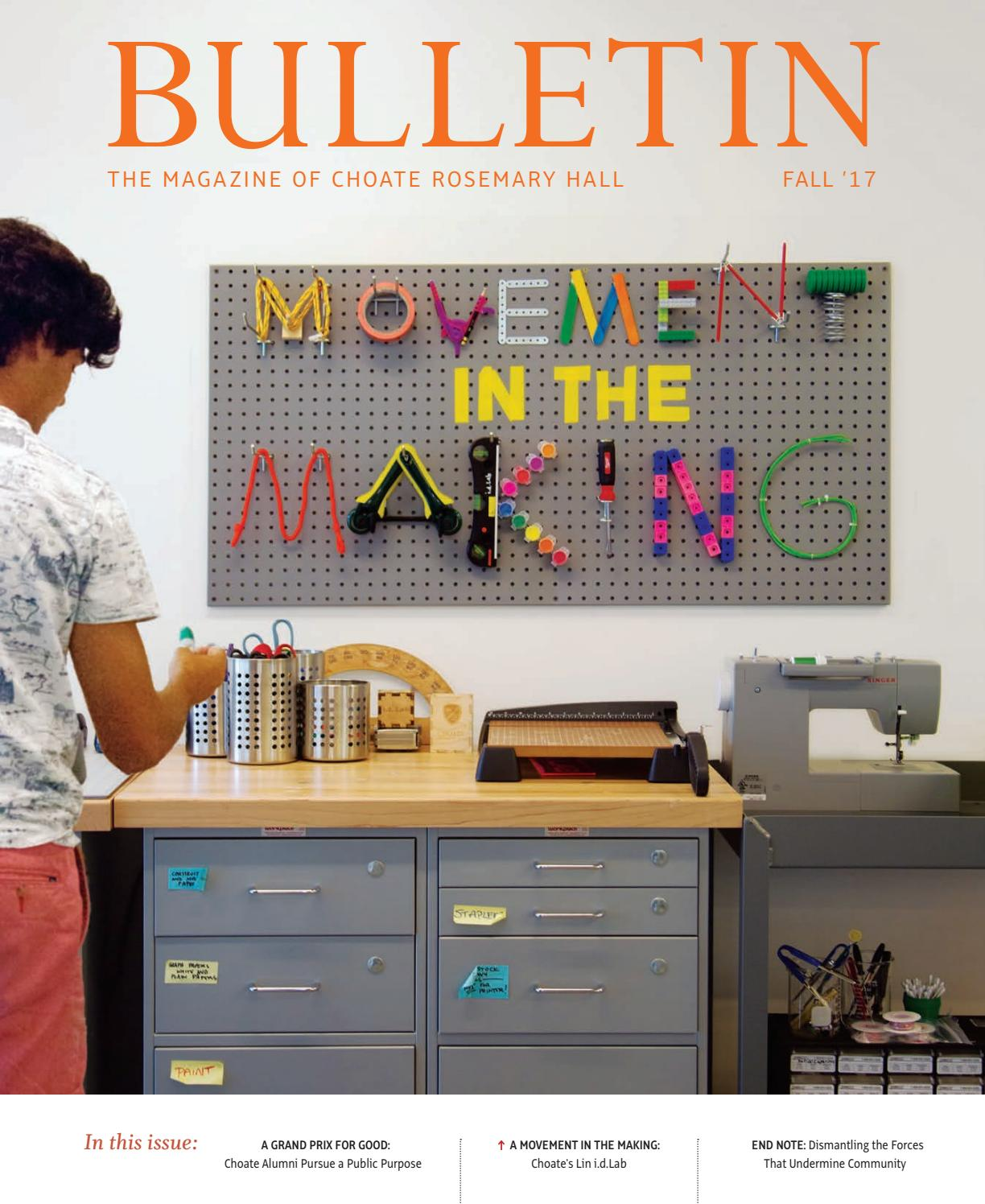 Choate Rosemary Hall Bulletin Fall 17 By Issuu Nan Ph Pro 3 800g