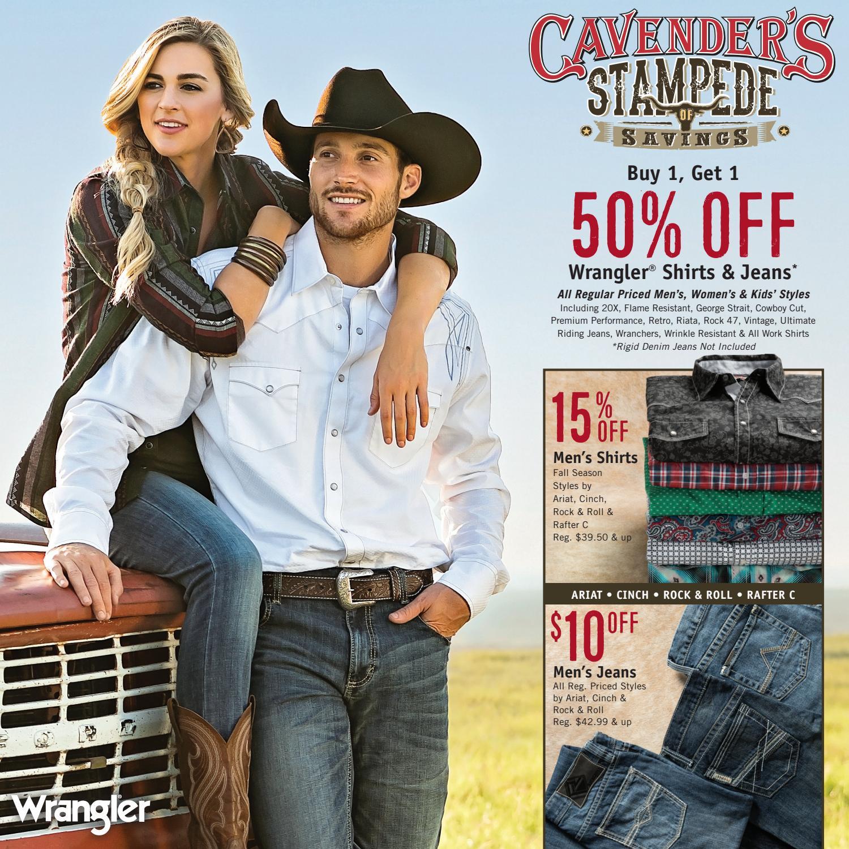 Cavender's Stampede of Savings 2017 by