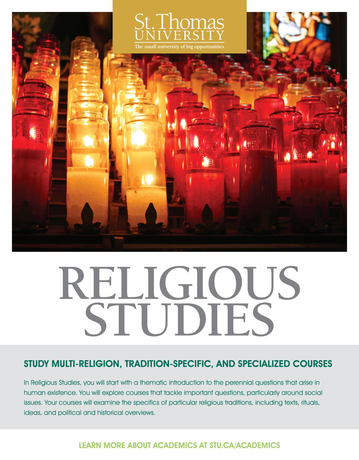 why is it important to study religious education
